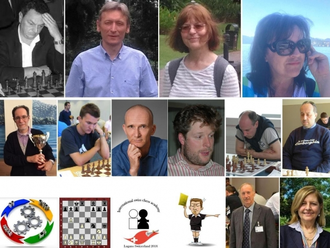 Il nostro team/our team - Swiss CHess Academy